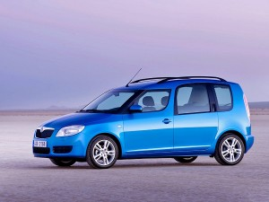 Skoda Roomster car rental
