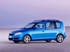 Skoda Roomster car rental