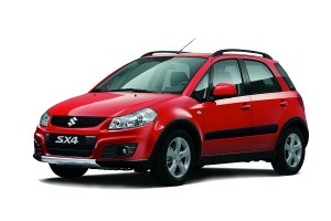 Suzuki SX-4 car rental